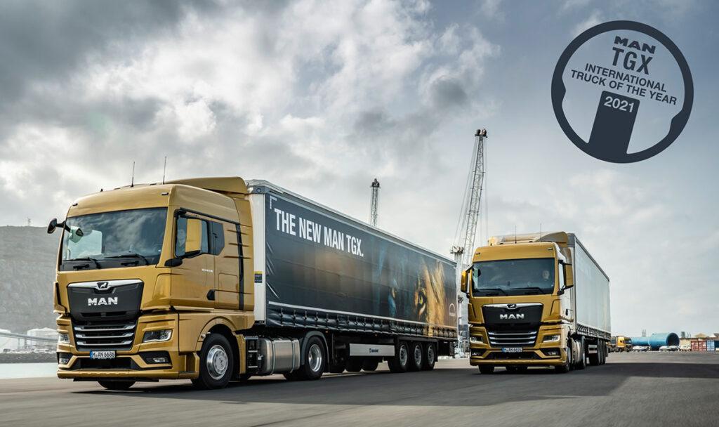 MAN TGX признан грузовиком года! 4