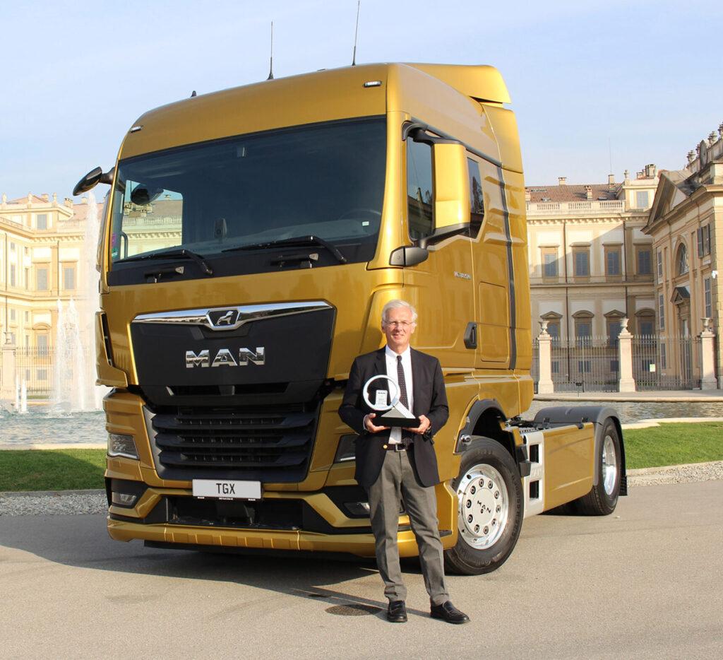 MAN TGX признан грузовиком года!