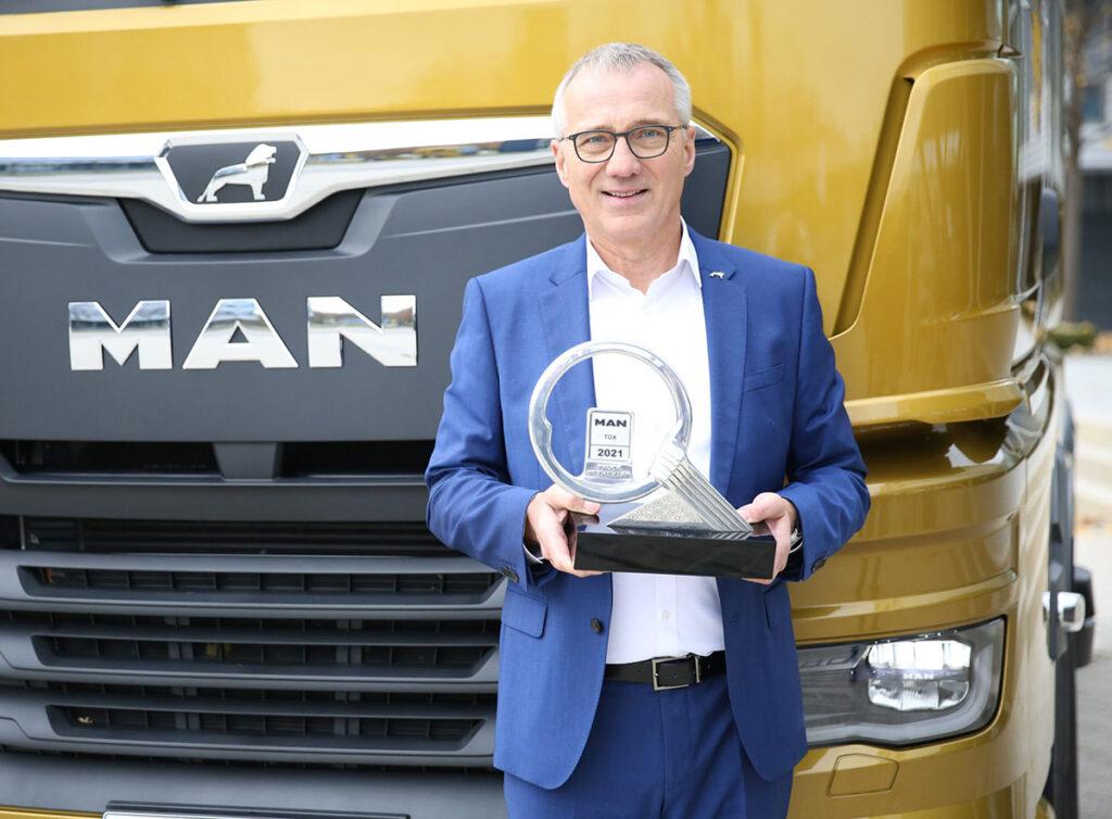MAN TGX признан грузовиком года! 3