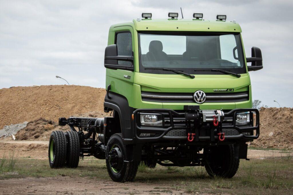 Volkswagen запустил в производство полноприводную модель Delivery 6