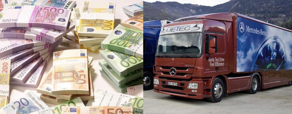 В Германии собрались выкупить старые грузовики Евро-3, 4 и 5