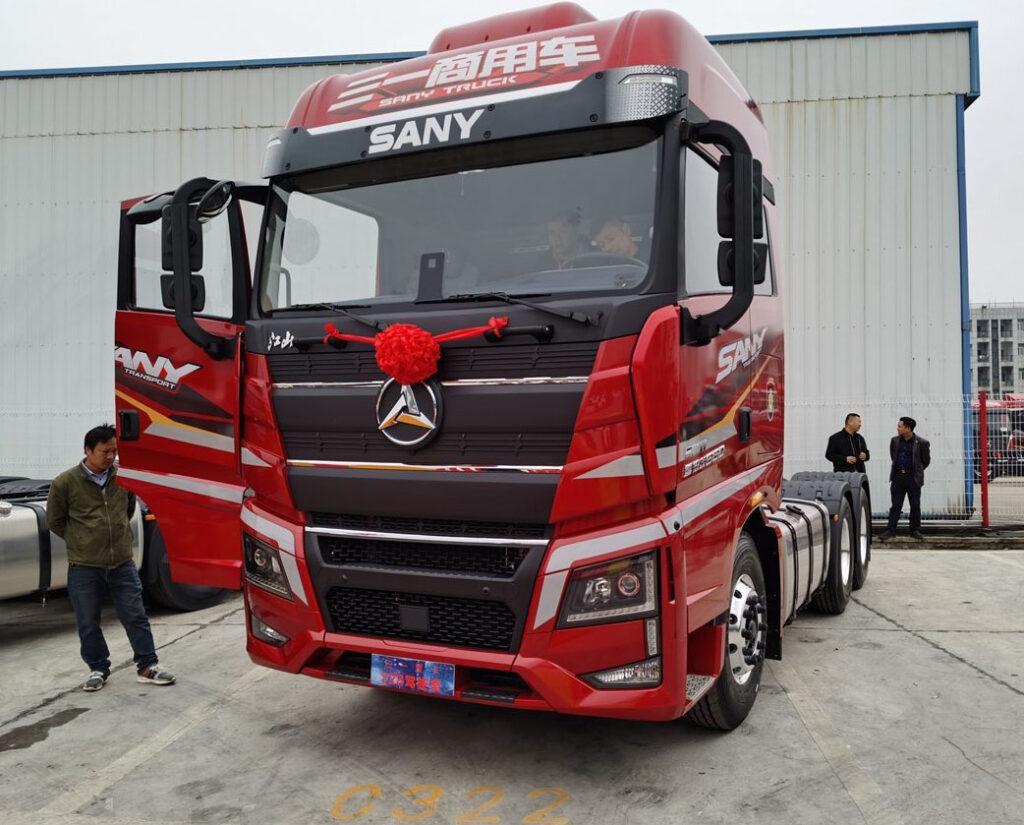 Jiangshan – новая флагманская модель компании SANY