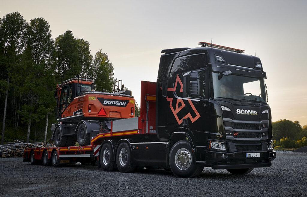 Грузовик Scania 3