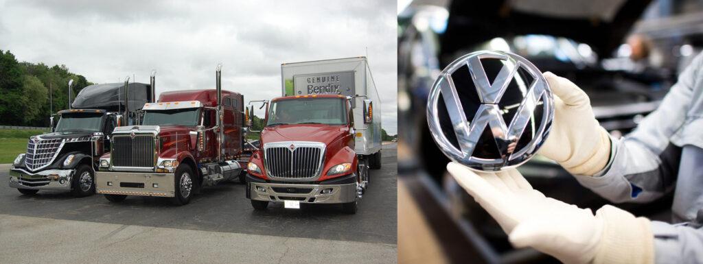 Volkswagen купил Navistar