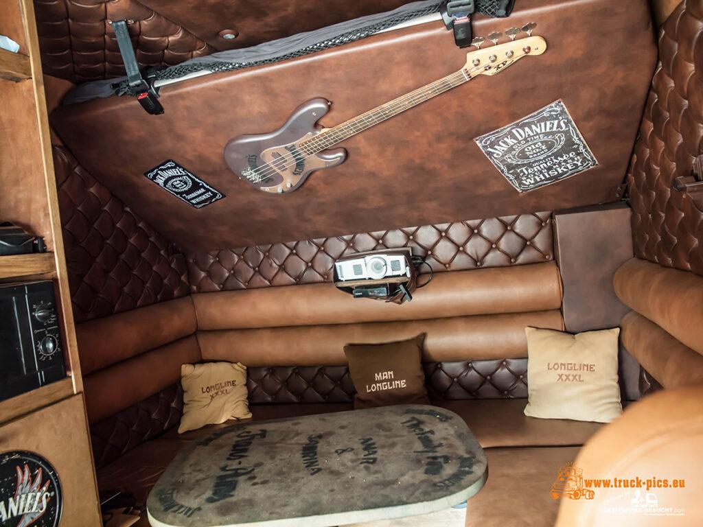 Уникальный тягач MAN TGX с кабиной XXXL 5