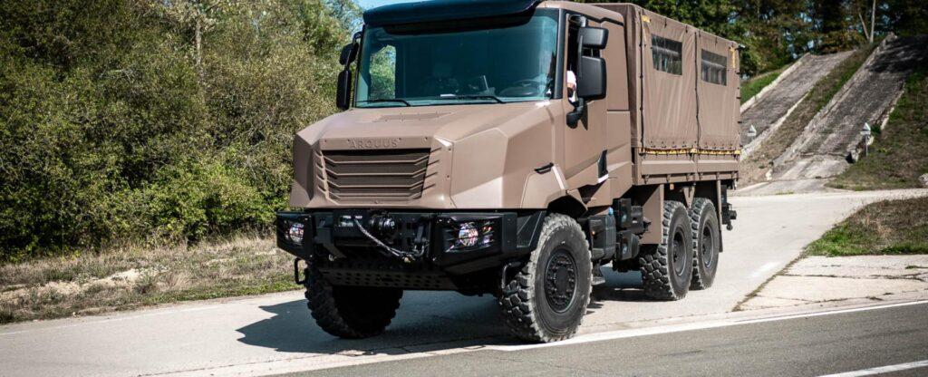 ARMIS - новая серия военных грузовиков