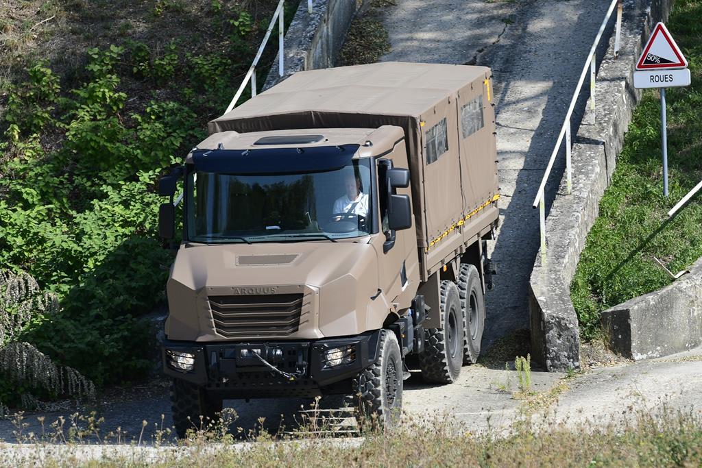ARMIS - новая серия военных грузовиков 3