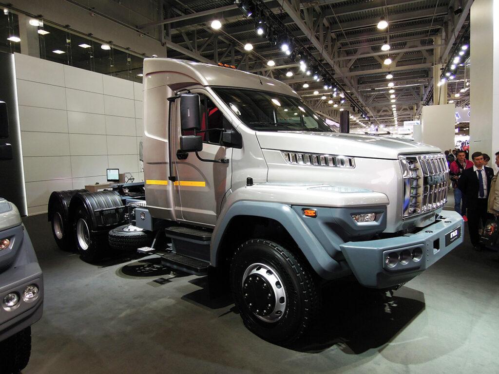 Российские грузовики Ural Next