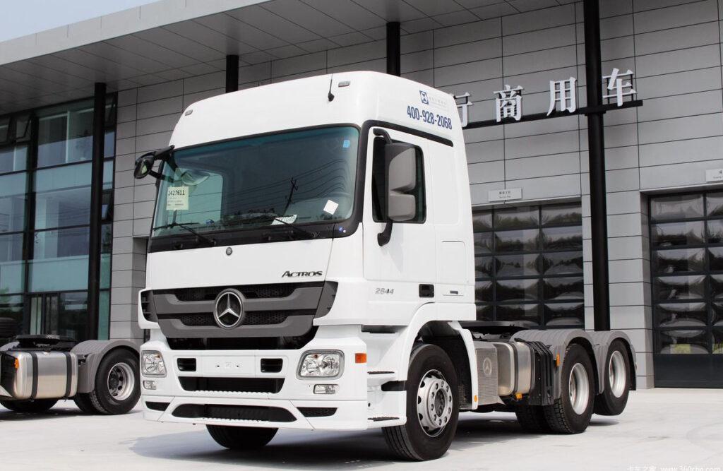 Грузовики Mercedes-Benz будут собирать в Китае 5