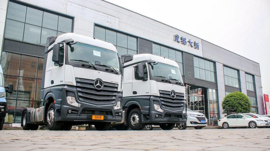 Грузовики Mercedes-Benz будут собирать в Китае 4
