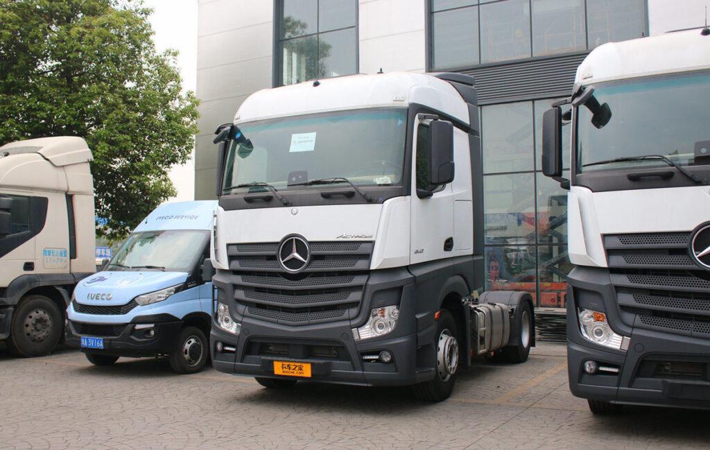 Грузовики Mercedes-Benz будут собирать в Китае 3