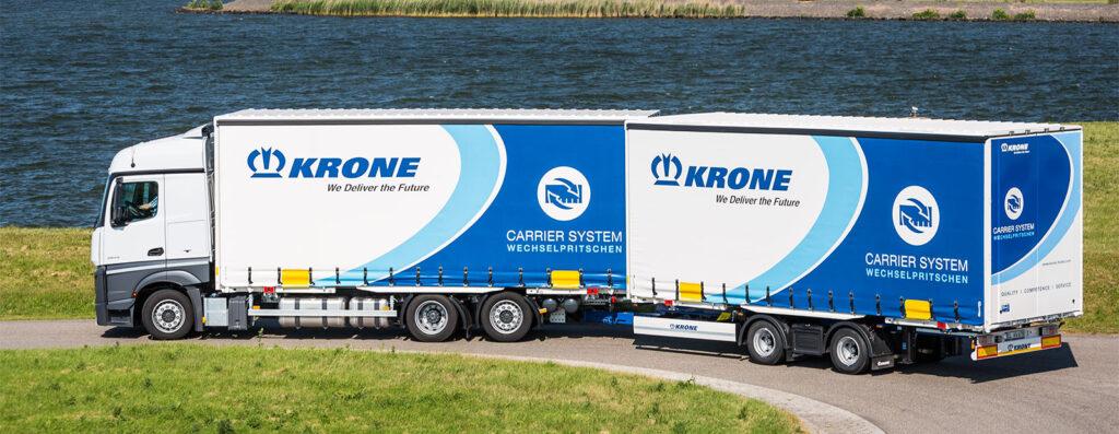 Новый полуприцеп Krone Swap Liner 3