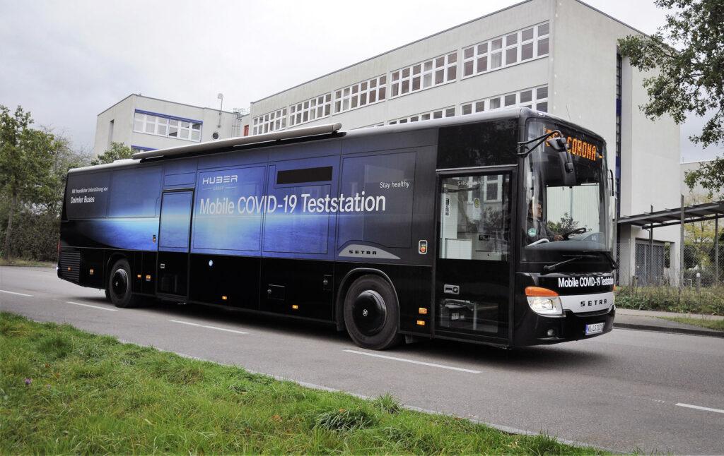 Daimler Buses помогает бороться с коронавирусом Covid-19