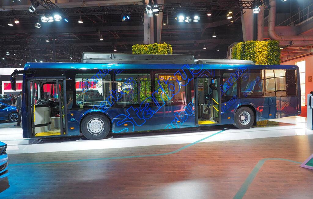 Первый электробус ТАТА 2