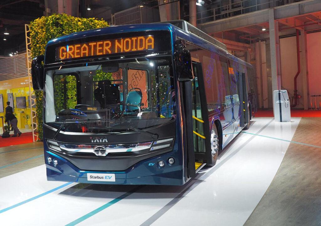 Первый электробус ТАТА