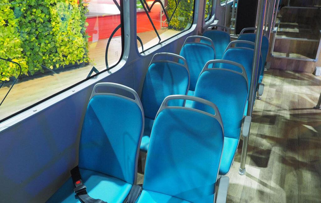 Первый электробус ТАТА 3