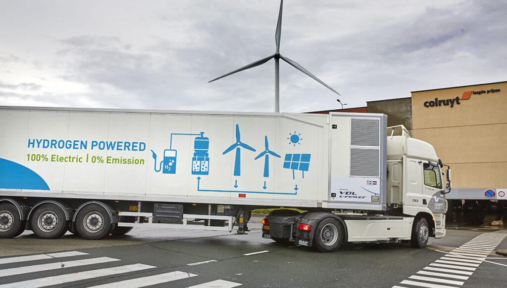 В Бельгии начали испытывать водородный автопоезд