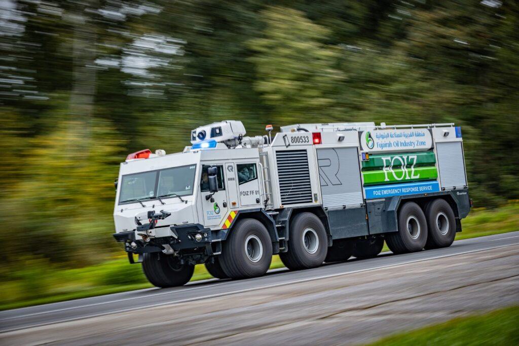 Пожарная новинка от Rosenbauer и Tatra