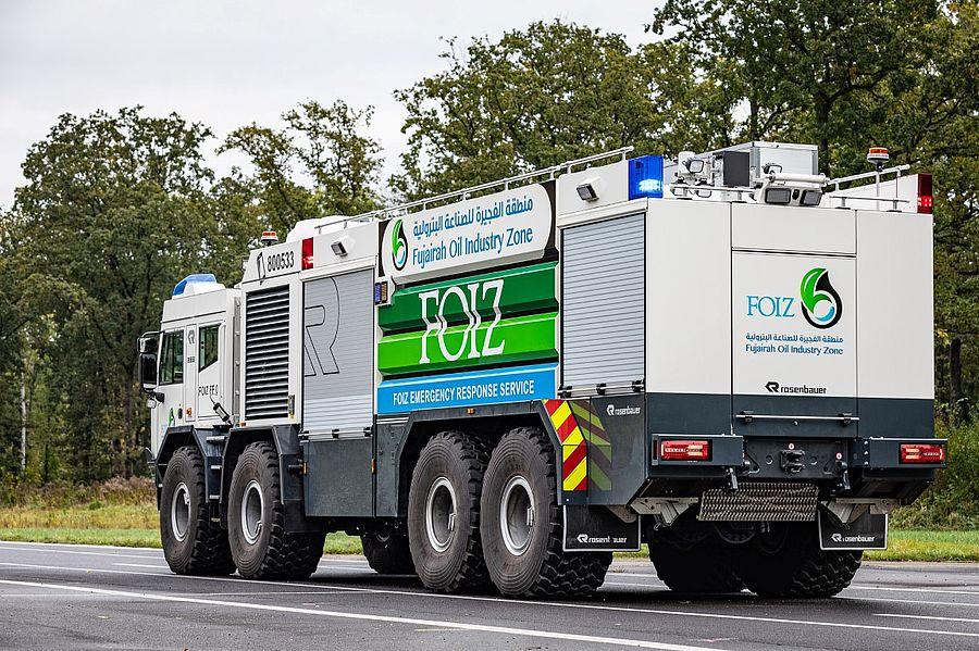 Пожарная новинка от Rosenbauer и Tatra 2