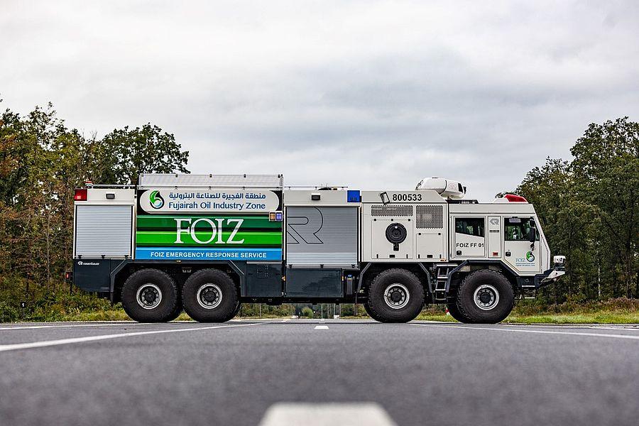 Пожарная новинка от Rosenbauer и Tatra 3