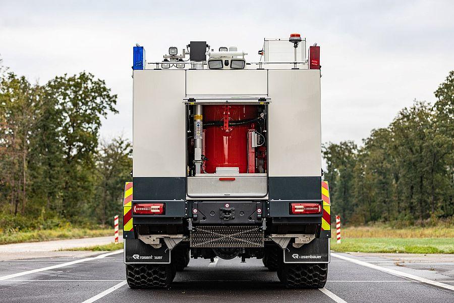 Пожарная новинка от Rosenbauer и Tatra 5