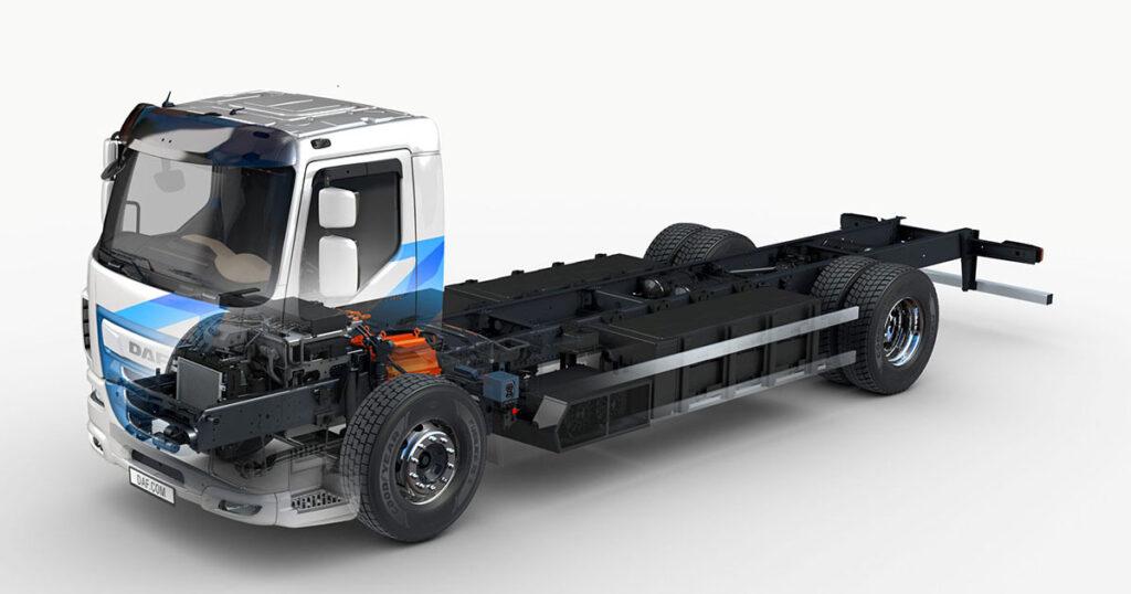 DAF Trucks представляет обновленную электрическую модель DAF LF Electric 2