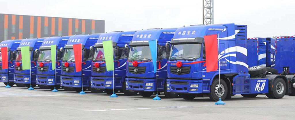 HIGER – самый крупный в мире производитель водородных грузовиков 2