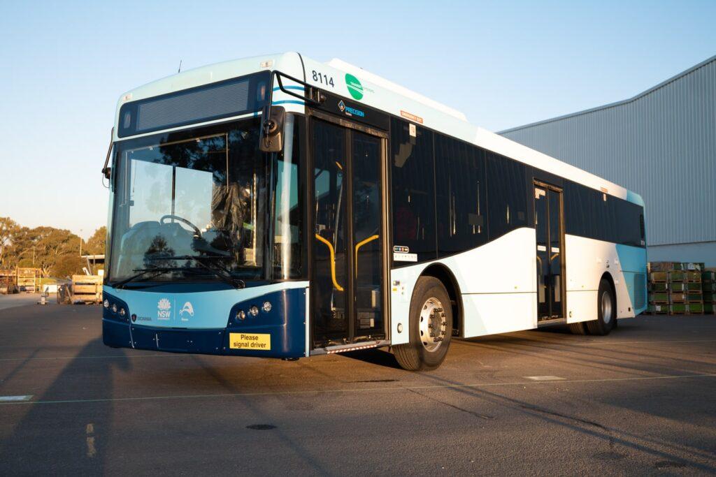 Первый австралийский электробус