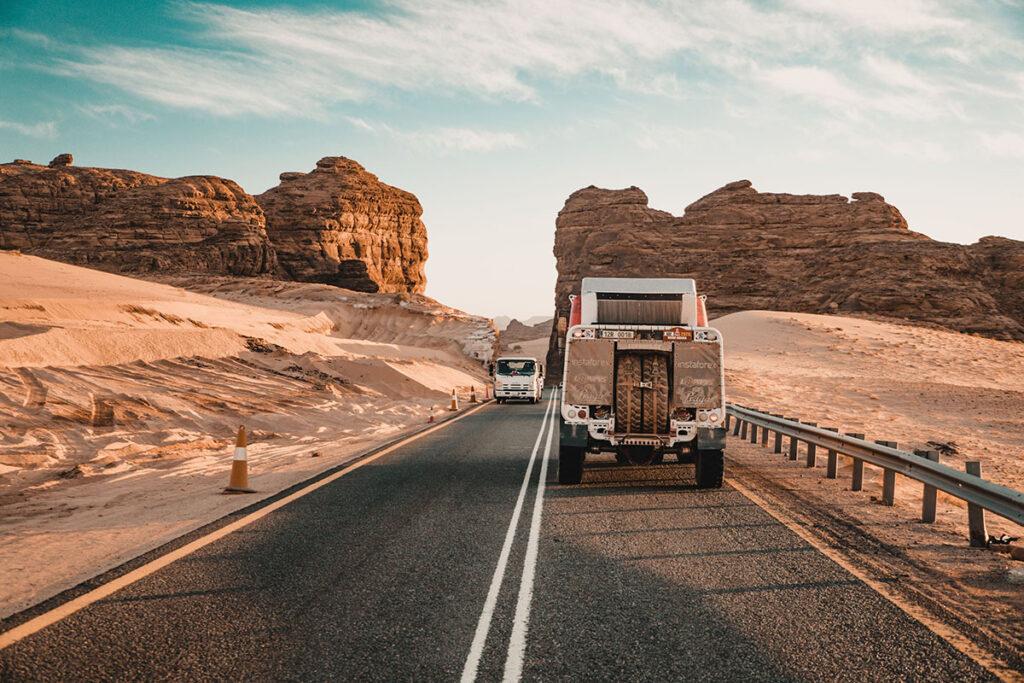 На Дакаре обнаружился грузовик Praga V4S 4