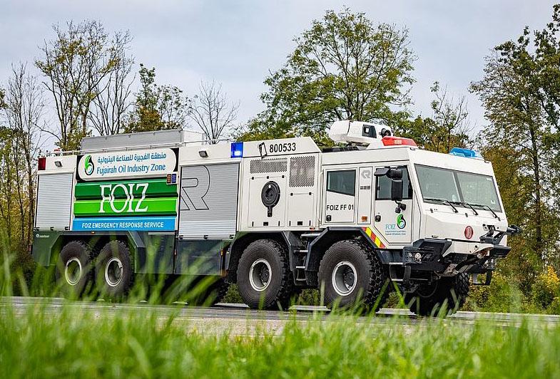 Пожарная новинка от Rosenbauer и Tatra 6