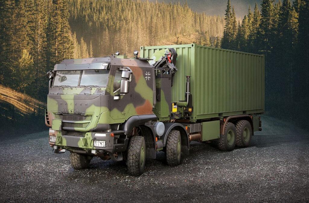 Iveco поставит Бундесверу 1000 бронированных Trakker-ов