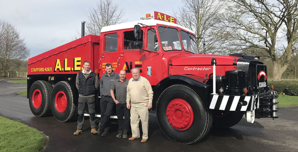 Восстановление старого грузовика Scammell 2