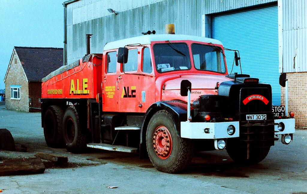 Восстановление старого грузовика Scammell