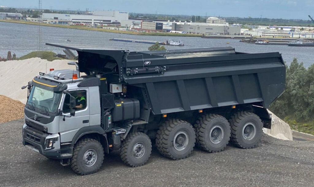 Самосвал BAS Mining Trucks с толкающим бортом