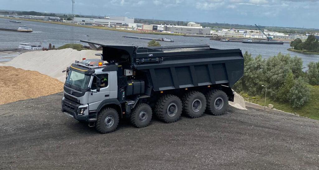 Самосвал BAS Mining Trucks с толкающим бортом 3