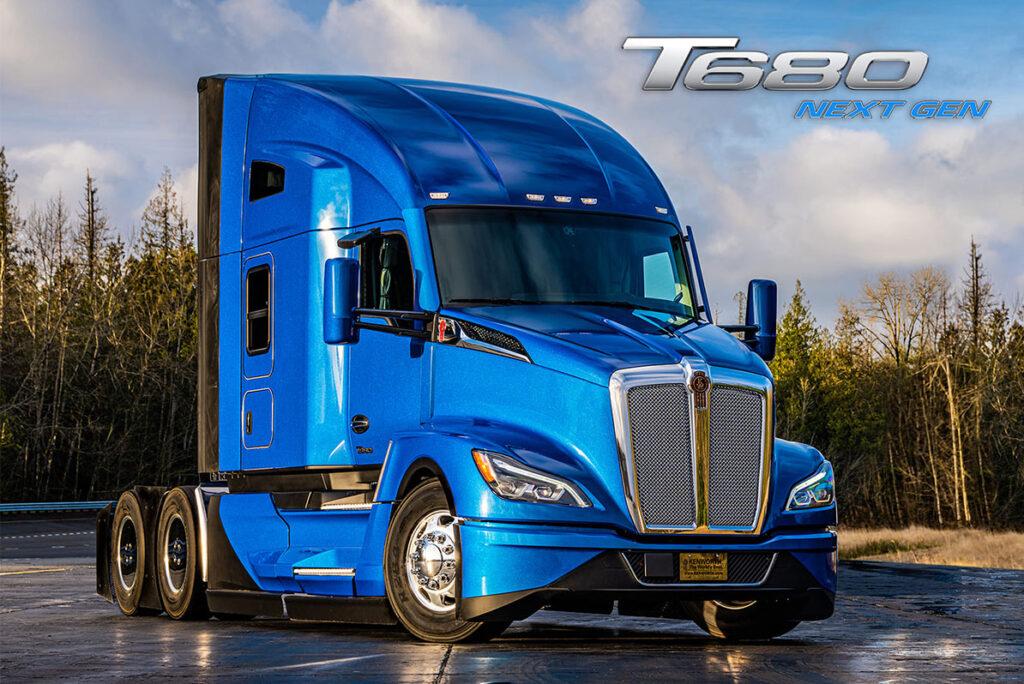 Kenworth представил новое поколение модели T680 Next Gen 3
