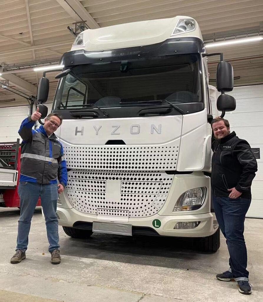 Первый водородный грузовик Hyzon 2