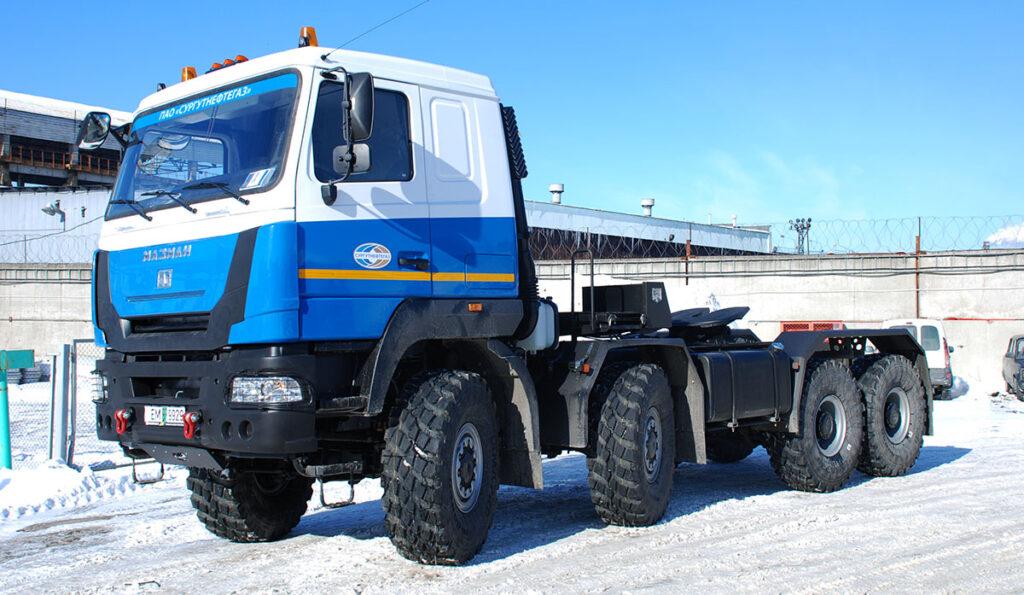 Новый тягач МАЗ-МАН 747559 с автоматической КПП