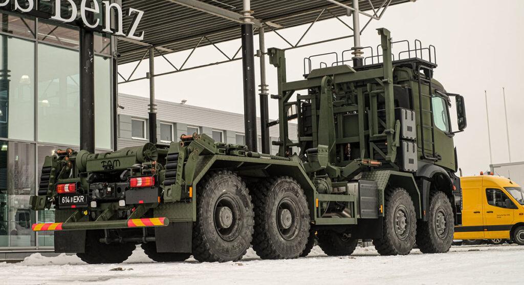 Эстонская армия приобрела Arocs-ы с мультилифтами 2