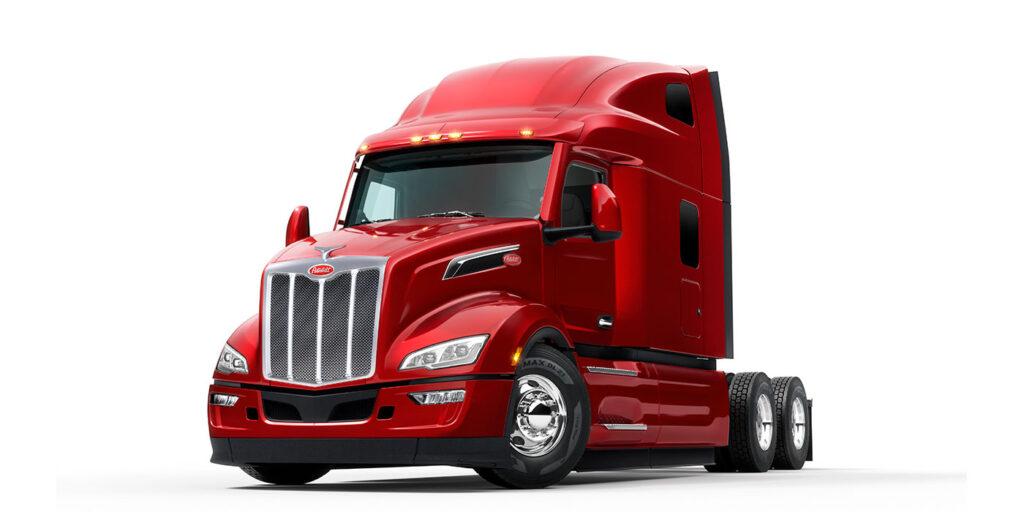Peterbilt представляет новую модель магистрального тягача Model 579 11