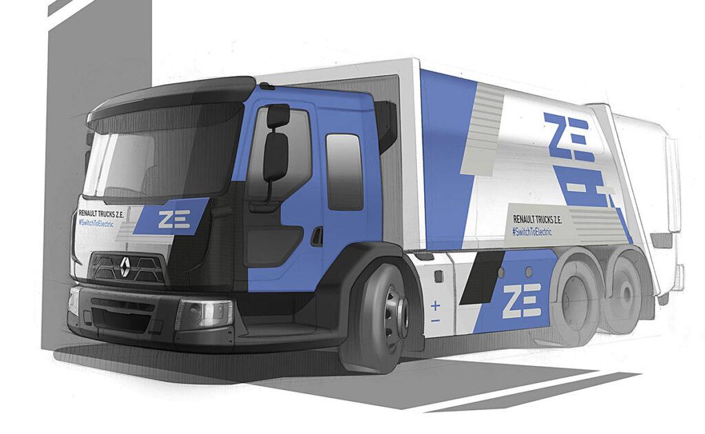 Renault электрифицировал грузовик с кабиной с низким входом 2