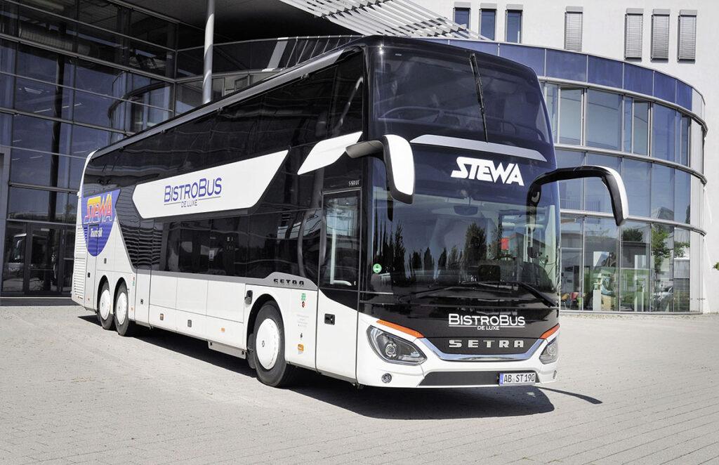 Новый автобус-бистро от Setra