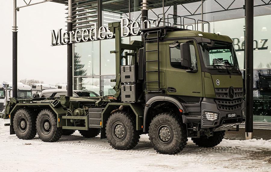 Эстонская армия приобрела Arocs-ы с мультилифтами 5