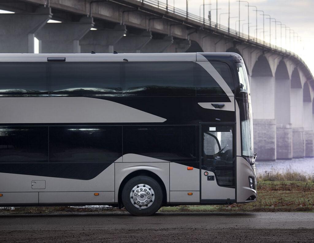 Volvo Buses запускает совершенно новый двухэтажный автобус 7