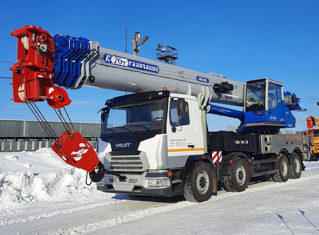 70-тонный «Галичанин» на обновленном шасси МЗКТ 3