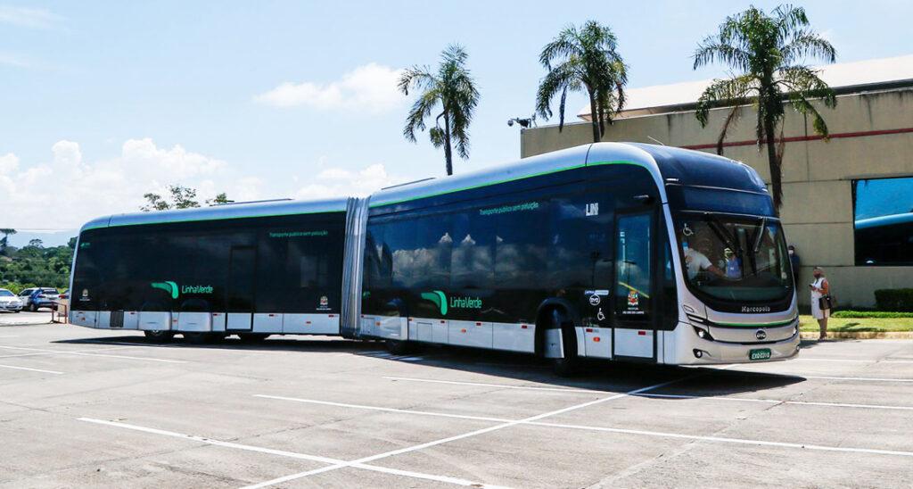 Первый бразильский электробус BYD 2