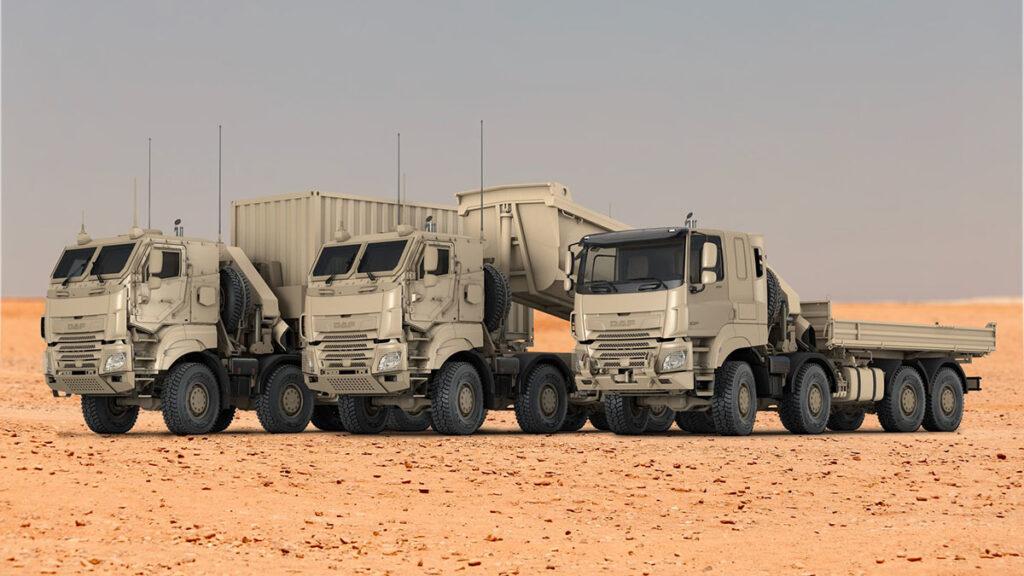 DAF совместно с Tatra поставят бельгийской армии 879 грузовиков 2