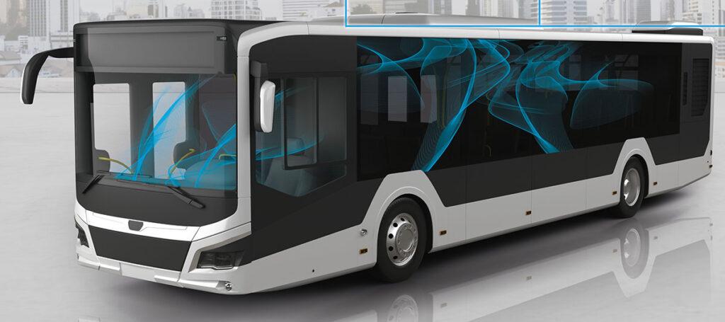 Новые технологии очистки воздуха в салоне автобуса