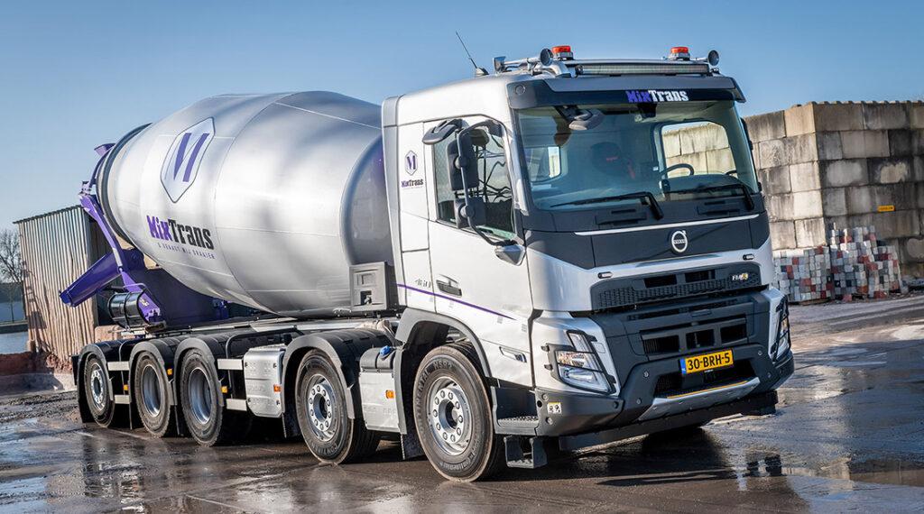 Новый Volvo FMX уже приступил к работе 2
