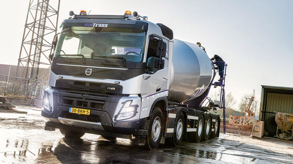 Новый Volvo FMX уже приступил к работе 3